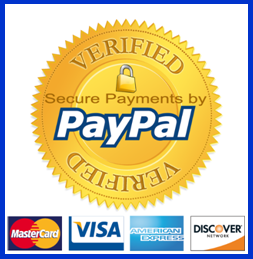 PayPal verified secure payments