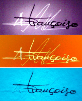 Analyse spectrale signatures