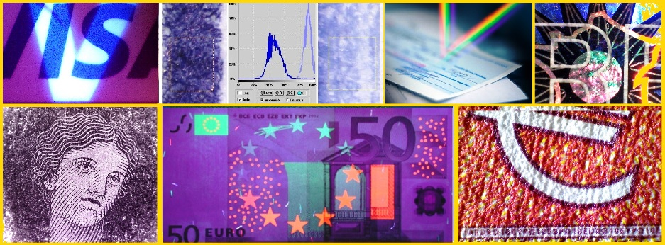 analyse spectrale de de faux documents